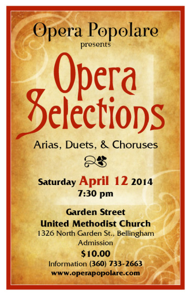 Opera Selections 2014